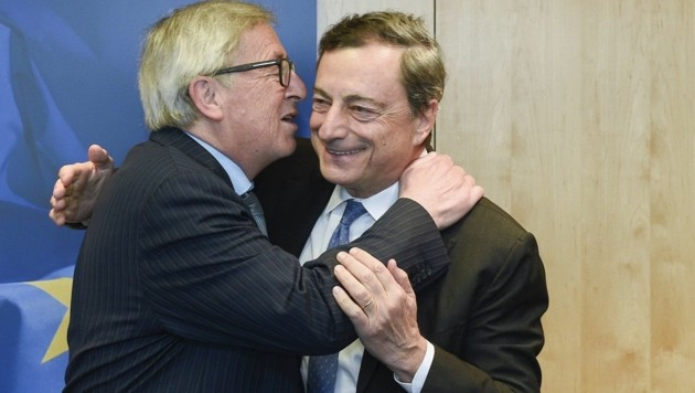 Busserl für Mario Draghi