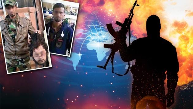 Bei uns im Bundesgebiet halten sich derzeit knapp 300 terrorverdächtige Personen auf. (Bild: LPD, thinkstockphotos.de)