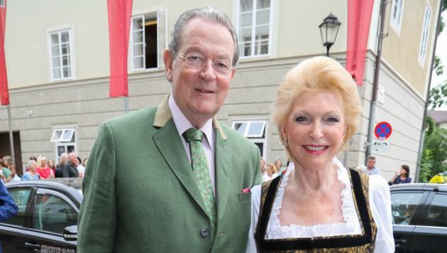 Elisabeth Schaeffler mit Ehemann Jürgen Thumann (Bild: APA/NEUMAYR/MMV)