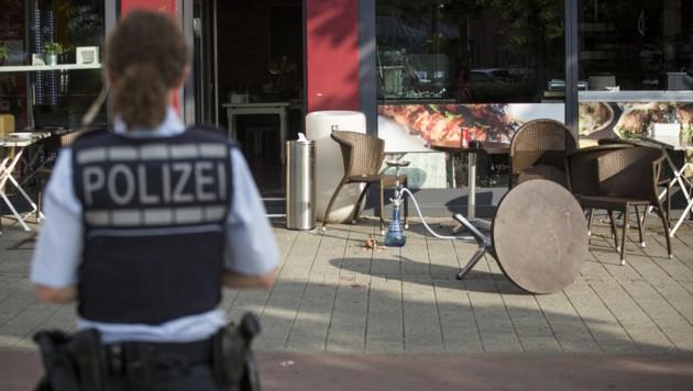 Der Döner-Imbiss in Reutlingen (Bild: APA/dpa/Christoph Schmidt)