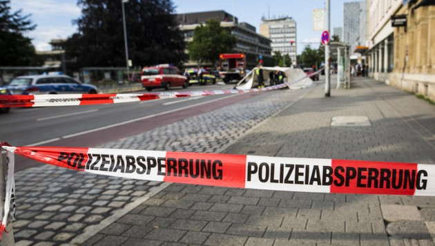 Der Tatort (Bild: APA/dpa/Christoph Schmidt)