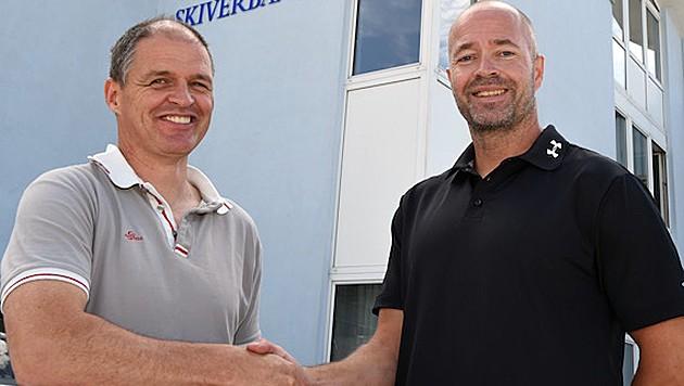 Markus Gandler und Trond Nystad