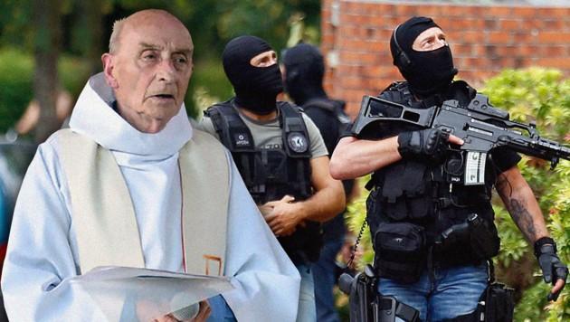 (Bild: AFP/PAROISSE SAINT-ETIENNE-DU-ROUVRAY, AP/Francois Mori)