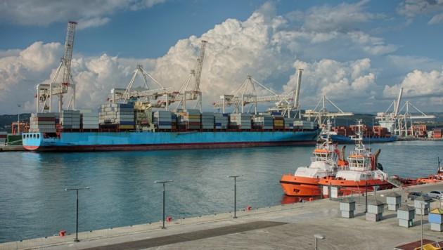 Der Hafen von Koper