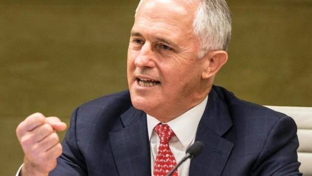 Australiens Regierungschef Malcolm Turnbull