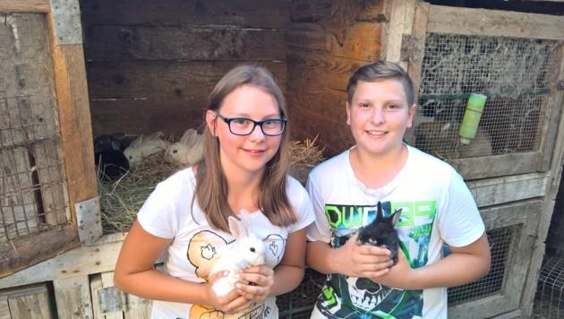 Ein Herz für Tier bewiesen Kerstin und Philipp: Sie retteten ausgesetzte Zwergkaninchen.