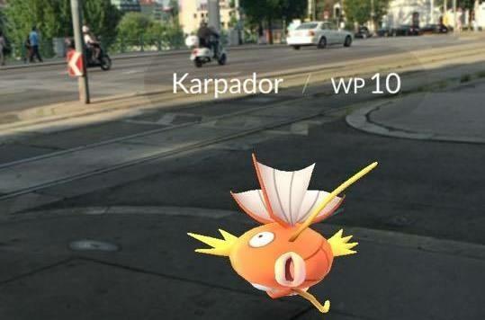 Bei der Urania verstecken sich Pokémons!