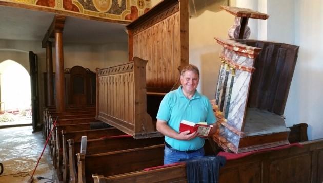 Der Afritzer Bürgermeister Max Linder ist vom Fund begeistert
