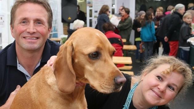 Top-Tierschützer: Ingrid und Michael Stracke von Purzel & Vicky