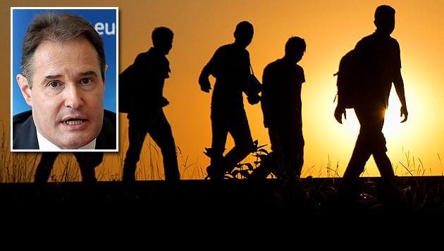 Frontex-Chef Fabrice Leggeri (Bild: AP, APA/EPA/WOLFGANG KUMM)