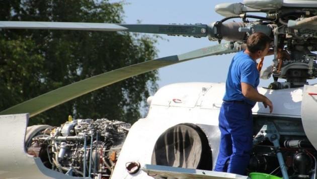 Die Mi-8 zählt zu den größten Hubschraubern der Welt