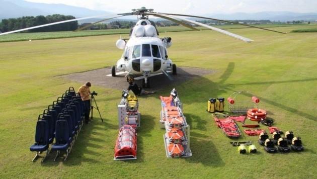 Der Mehrzweckhubschrauber Mi-8 samt Austattungsvarianten