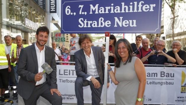 Das grüne Projekt Mariahilfer Straße Neu war binnen eines Jahres umgesetzt.