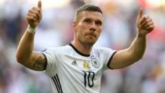 Lukas Podolski (Bild: AFP)