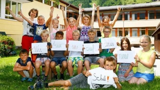 Die Klasse 3b freut sich auf die neue Schule, auch wenn sie 2018 schon die Hauptschule besuchen
