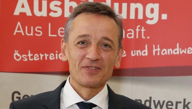 Der Chef der Finanzpolizei, Wilfried Lehner