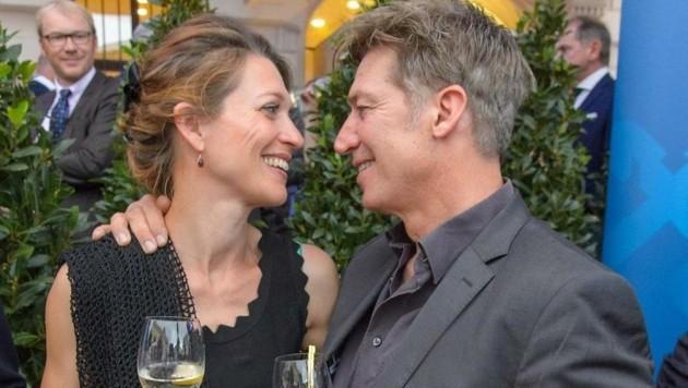 Wie frisch verliebt: Moretti und seine Julia