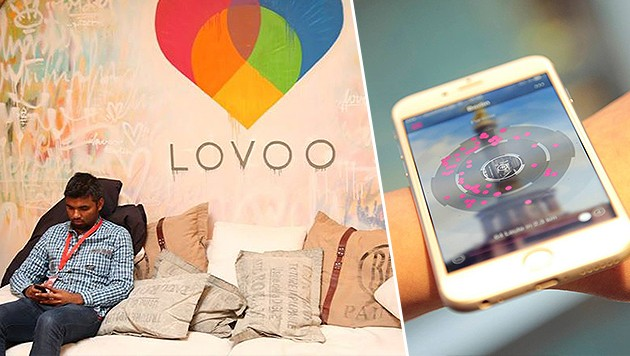Via Lovoo suchte die Innviertlerin die Liebe, fand nur einen Gauner (Bild: facebook.com/lovoo,)