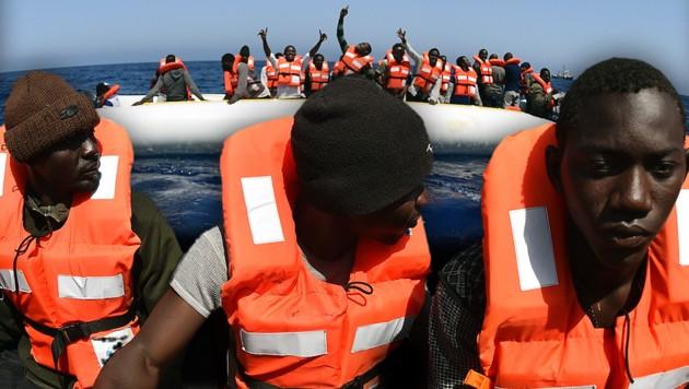 (Bild: APA/AFP/Gabriel Bouys)