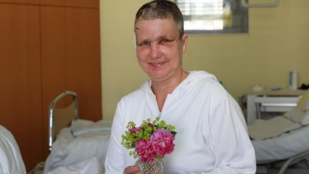 Ingrid Heilmann ist auf dem Weg der Besserung. (Bild: Christoph Gantner)