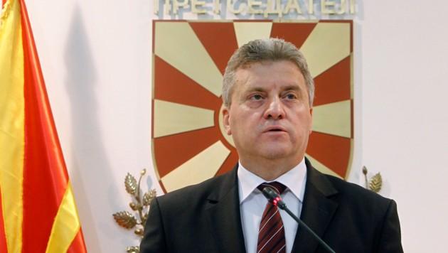 Mazedoniens Präsident Gjorge Ivanov (Bild: AP)