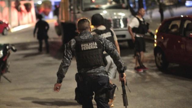 Einheiten der Bundespolizei in Mexiko (Bild: APA/AFP/PEDRO PARDO (Symbolbild))