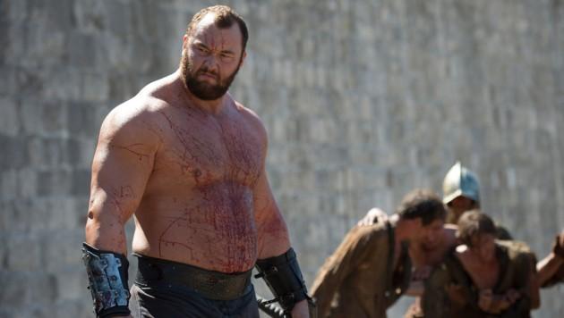 """Haftór Björnsson als """"Der Berg"""" in """"Game of Thrones"""" (Bild: HBO)"""
