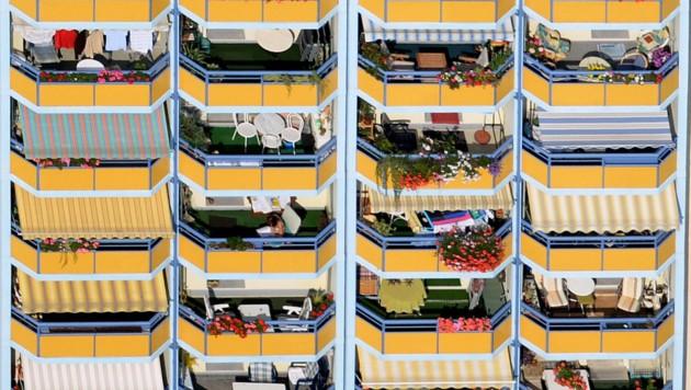 Nach Meinung der deutschen Bauministerin brauchen viele Bürger meist nicht viel Wohnfläche. (Bild: APA/dpa-Zentralbild)