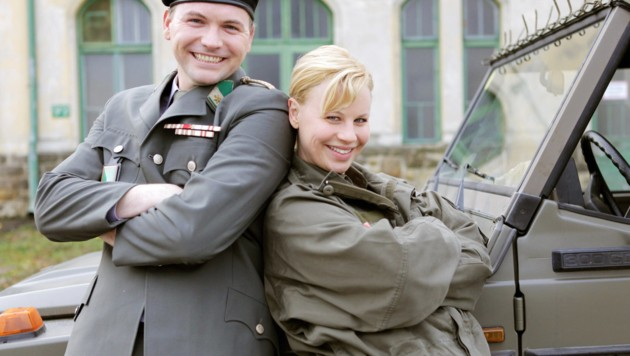 Thomas Stipsits und Katharina Straßer (Bild: ORF)