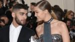 Gigi Hadid mit ihrem Schatz Zayn Malik (Bild: Evan Agostini/Invision/AP)