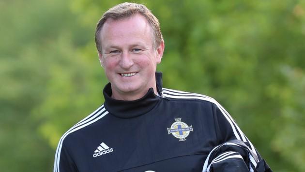 Coach Michael O'Neill (Bild: GEPA)
