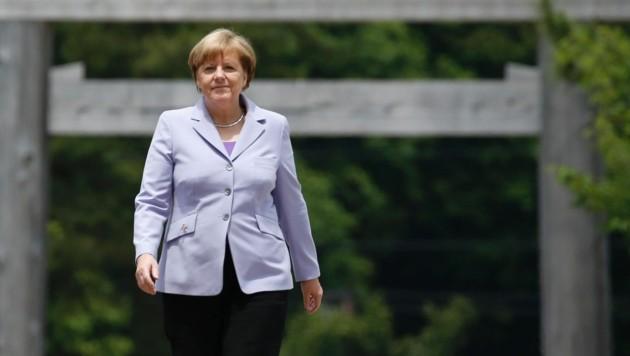 Angela Merkel beim G7-Gipfel in Japan (Bild: APA/AFP/POOL/TORU HANAI)