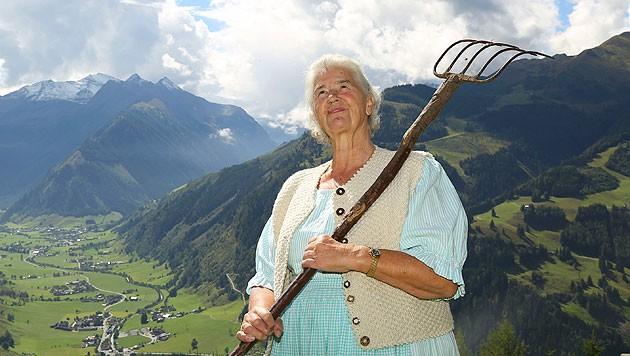 "Die streitbare ""Wut-Oma"" Frieda Nagl (Bild: Gerhard Schiel)"
