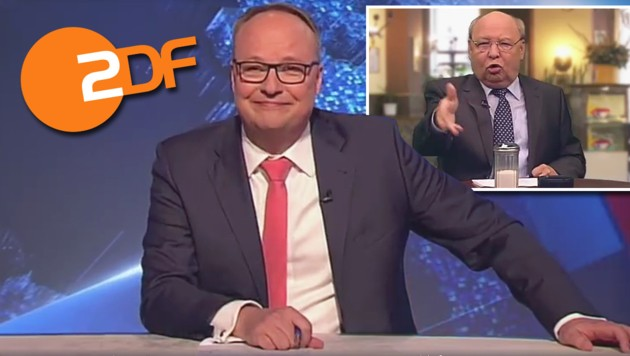 """Oliver Welke moderiert die """"heute-show"""" seit 2009 und hat es derzeit auf Österreich abgesehen. (Bild: ZDF)"""