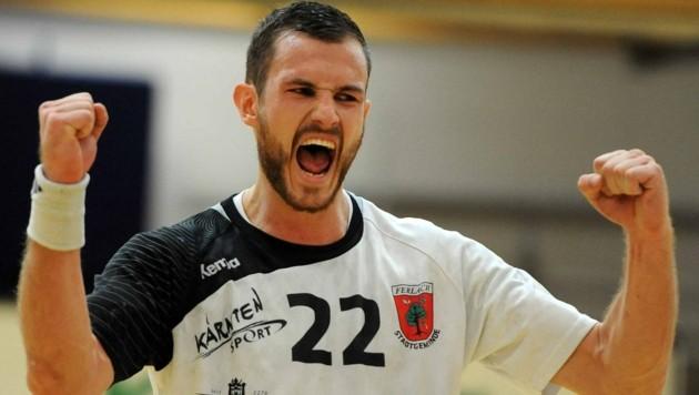 """Ferlachs Handball-Kapitän Pomorisac: """"Wollte damals aufhören!"""" (Bild: F. Pessentheiner, pessentheiner)"""