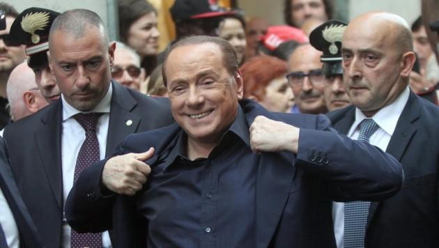 Silvio Berlusconi (Bild: APA/EPA/MATTEO BAZZI)