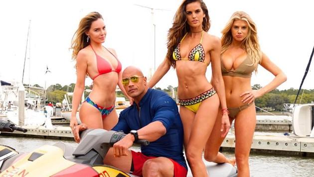 """The Rock"" kriegt scharfen ""Baywatch""-Zuwachs. (Bild: instagram.com/therock)"
