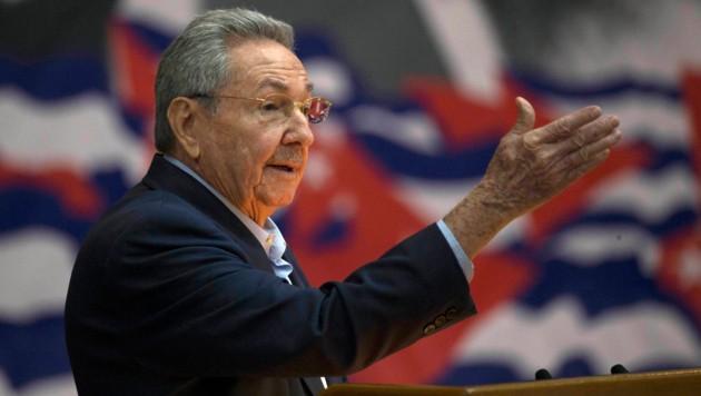 Raul Castro tritt im April als Kubas Staatschef ab