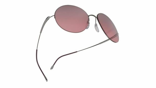 Für den perfekten Durchblick: Sonnenbrille mit rosa Gläsern (Bild: Silhouette)