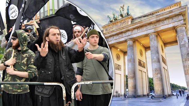 Die Zahl potenzieller IS-Kämpfer und Salafisten in Deutschland steigt praktisch täglich. (Bild: Melanie Dittmer dpa/lnw, thinkstockphotos.de)