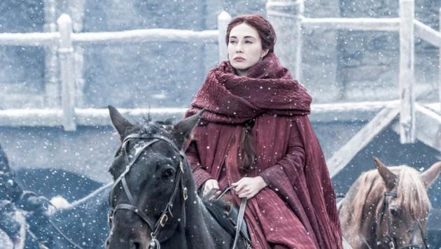 """Carice van Houten in ihrer Rolle als Melisandre in """"Game of Thrones"""" (Bild: HBO)"""