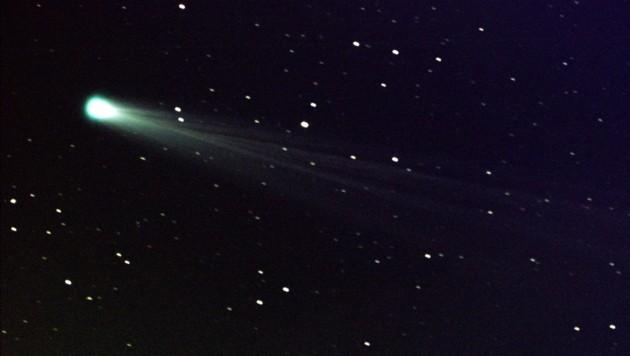 Von der Erde aus sind die Kometen leider nur per Teleskop zu sehen.