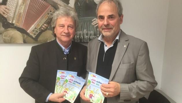 Schenken Kinderlieder: Horst Moser und Bernhard Zlanabitnig