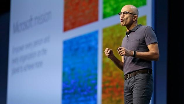 Microsoft-Boss Satya Nadella persönlich gab auf der Build Einblick in die Zukunft von Windows. (Bild: AP)