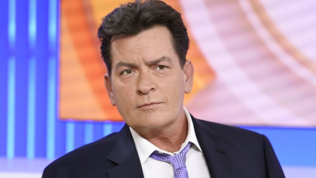 """Charlie Sheen in der """"Today""""-Show"""