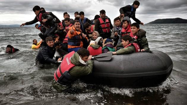 (Bild: APA/AFP/Aris Messinis)