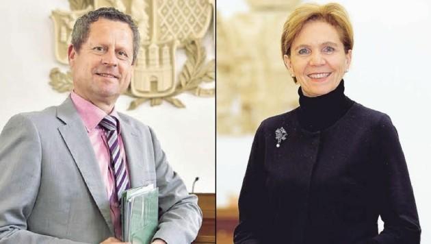 Abgeordneter Naderer plädiert für mehr Sicherheit im Landtag,Präsidentin Pallauf denkt darüber nach.