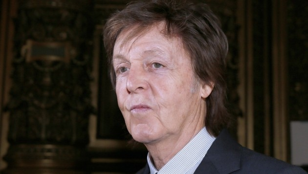 Ex-Beatle Paul McCartney (Bild: APA/AFP/Patrick Kovarik)