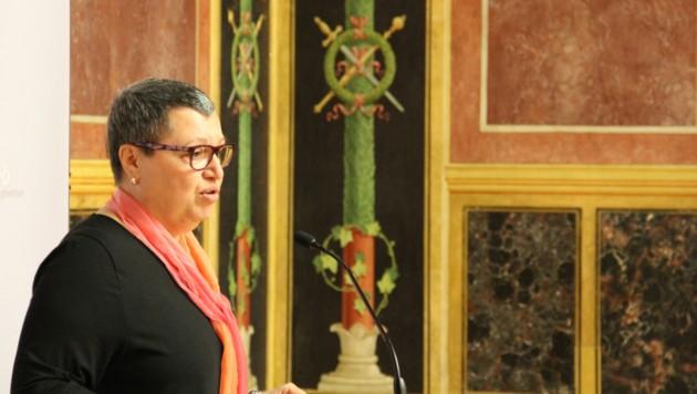 Gesundheitsministerin Sabine Oberhauser
