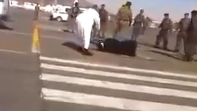 Eine Enthauptung auf offener Straße - in Saudi-Arabien nichts Besonderes